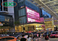 HD P3.91 Large Outdoor Led Display Screens SMD 3-IN-1 Installed In Shopping Mall