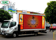 P10 Mobile Truck LED Display Outdoor Full Color Advertising Screen 5500cd/M2 Brightness