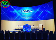 Indoor / Outdoor Advertising Curved Led Display Screen IP34 3.91mm Pixel Pitch