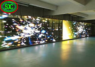Full color HD flexible transparent glass led display Advertising panel with 1000mm*500mm cabinet