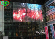 Transparent LED Screen P3.91 commercial advertising glass window display indoor transparent led display screen