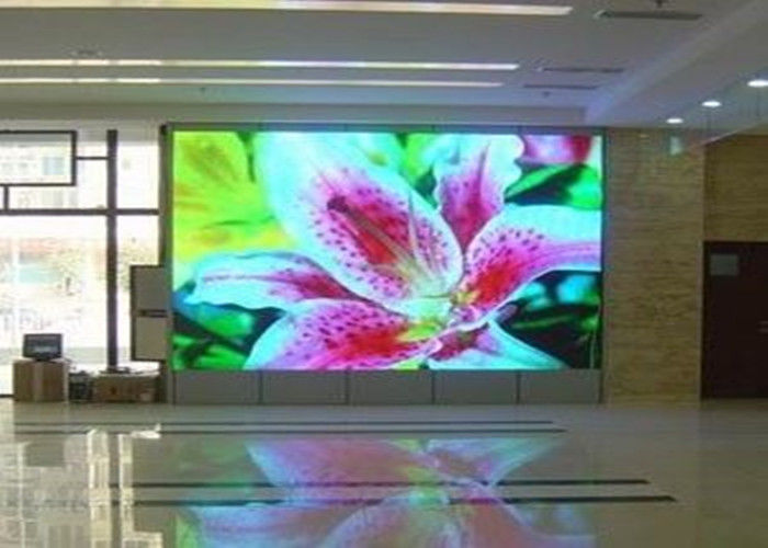 Custom size 6mm display billboard , Stage background led digital screen