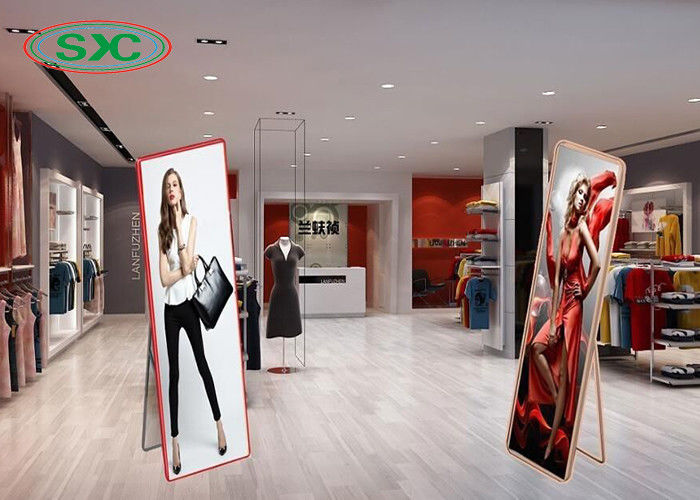 Indoor Led Mirror Display , P2.5 Advertising LED Poster Screen 160x160mm Module