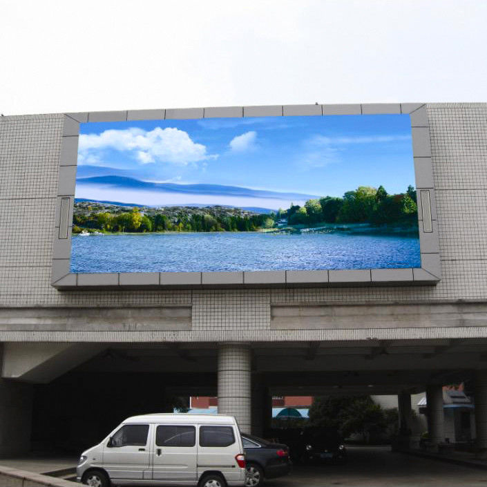 External Electronic Signage Stadium LED Display Outdoor HD P10 8000cd/m2 Brightness