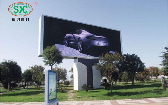 Large Outdoor HD P6.67 LED Billboards Advertising Programmable LED Signage