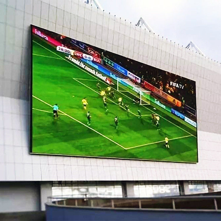 AC 85-264V Sport Stadium Perimeter LED Display Scoreboard P6 With CE UL FCC Approval
