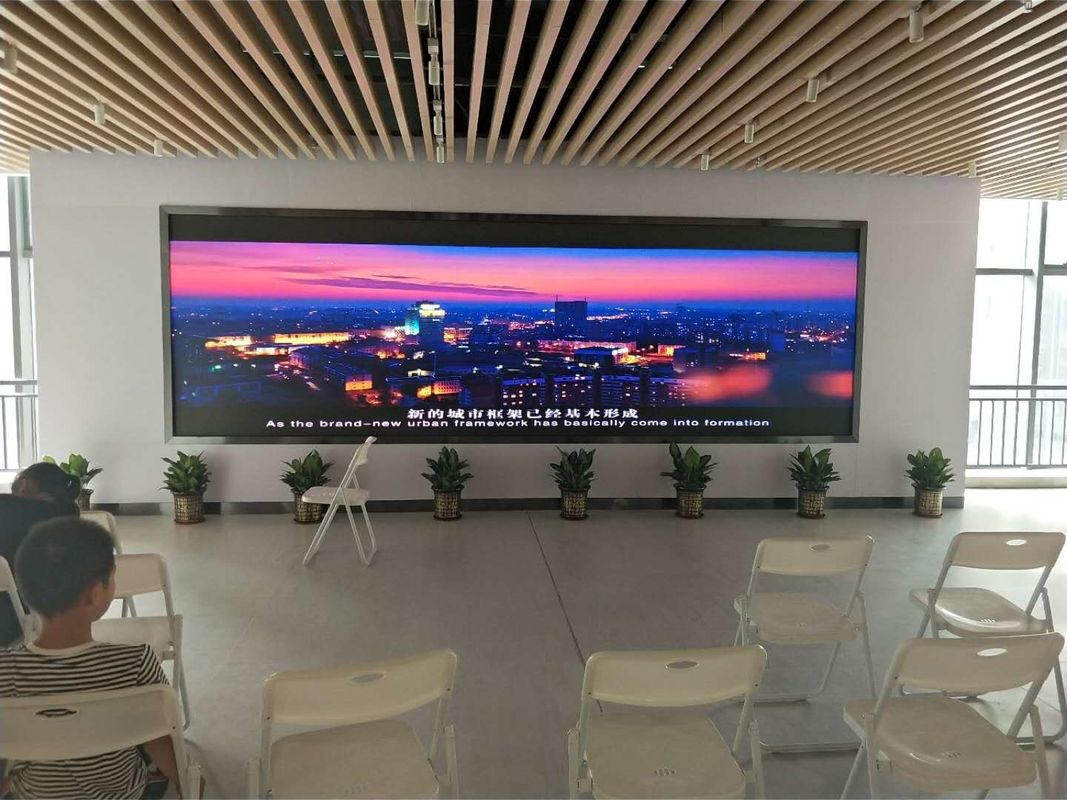 Fixed Stage Indoor Full Color LED Display P3 P4 P5 P6 111111 dots / Sqm Pixel Density