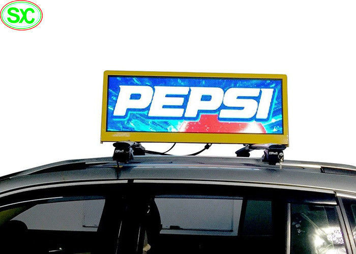 P4 P5 Taxi Top LED Digital Display Full Color 3G 4G WIFI GPS Advertising Billboard